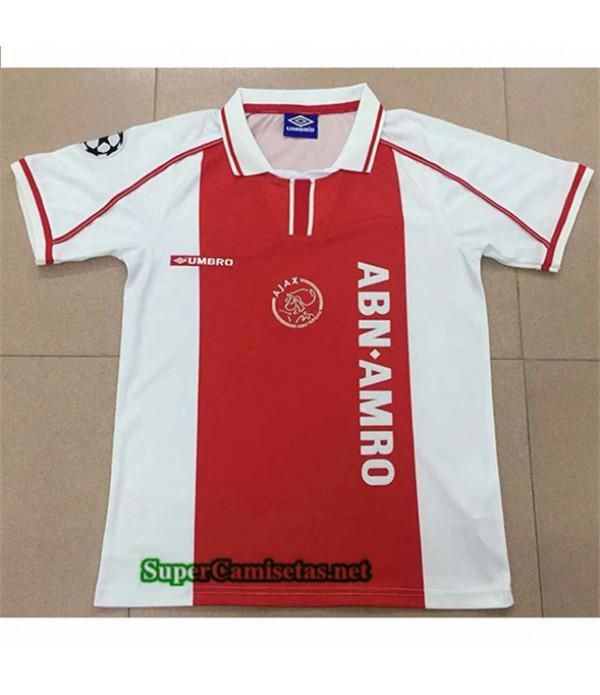 Tailandia Primera Equipacion Camiseta Clasicas Ajax 1998