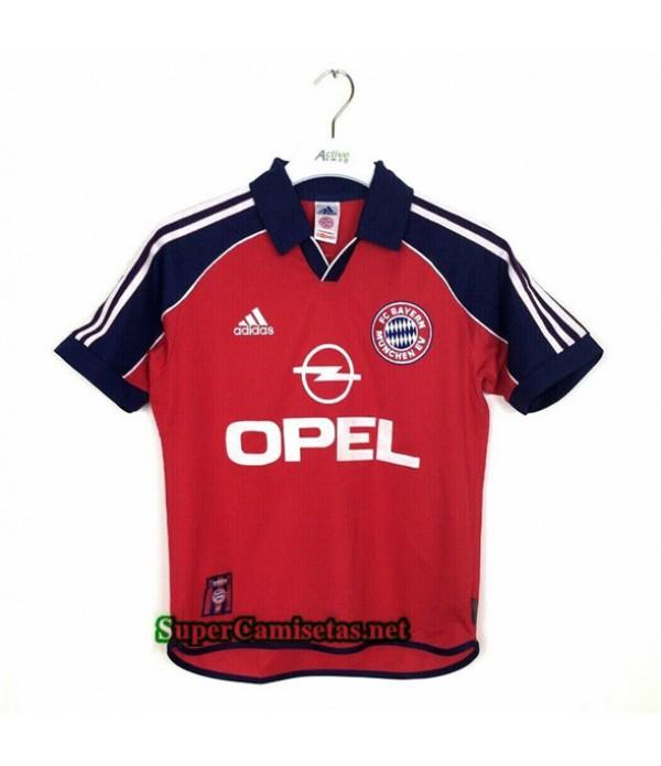 Tailandia Primera Equipacion Camiseta Retro Bayern...