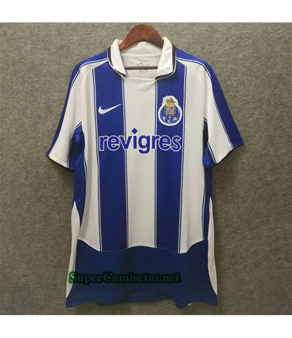Tailandia Primera Equipacion Camiseta Retro Oporto 2003 04