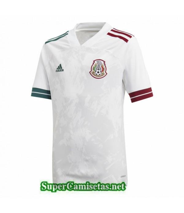 Tailandia Segunda Equipacion Camiseta Mexico Blanco 2020/21