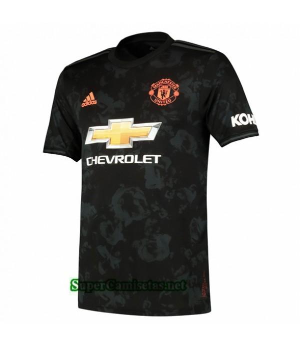 Tailandia Tercera Equipacion Camiseta Manchester United Negro 2019/20