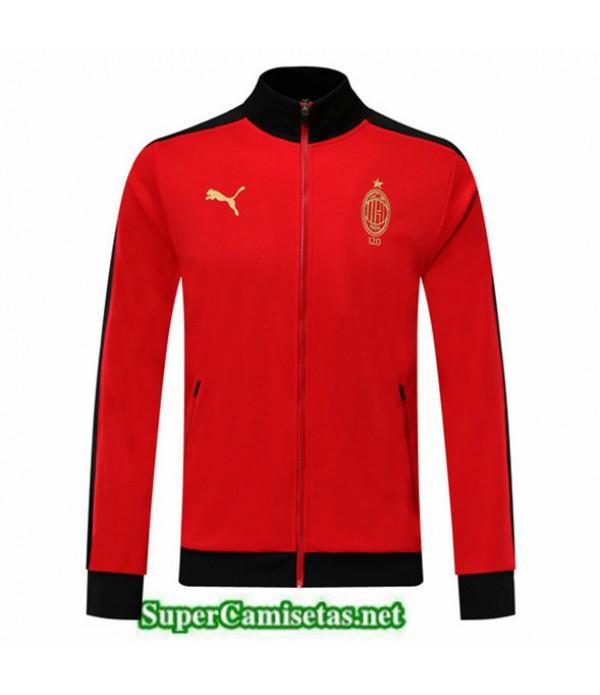 Tailandia Camiseta Ac Milan Chaqueta Rojo/negro 2019/20
