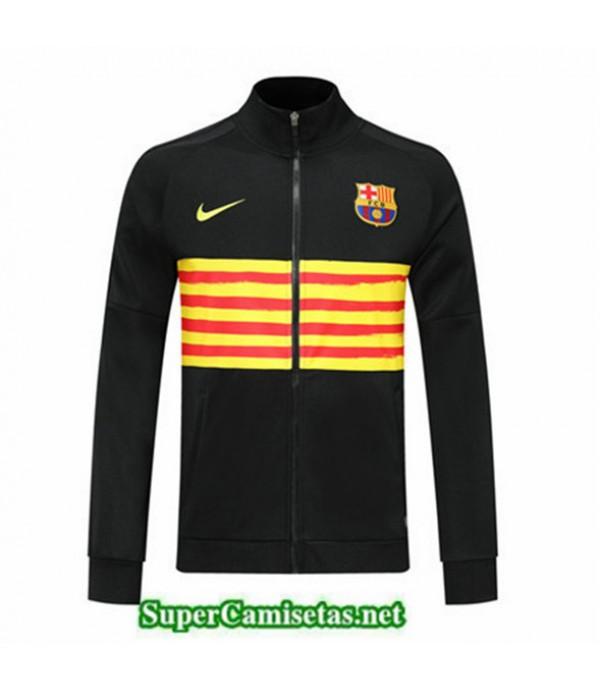 Tailandia Camiseta Barcelona Chaqueta Negro/amarillo 2019/20