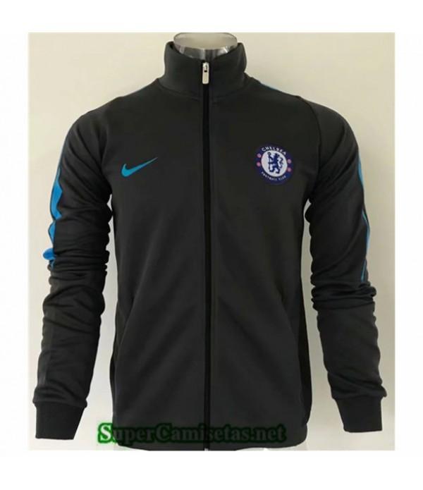 Tailandia Camiseta Chelsea Chaqueta Negro 2019/20