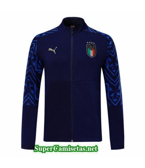 Tailandia Camiseta Italia Chaqueta Azul Oscuro 2019/20
