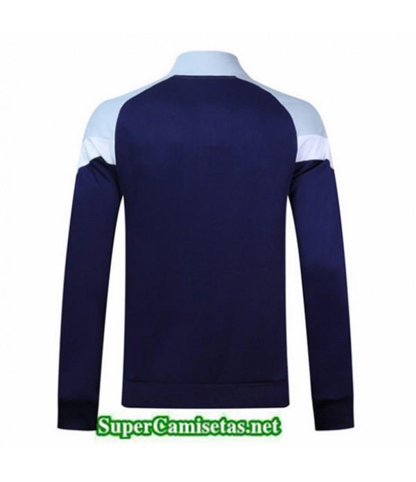 Tailandia Camiseta Italia Chaqueta Azul Oscuro/blanco 2019/20