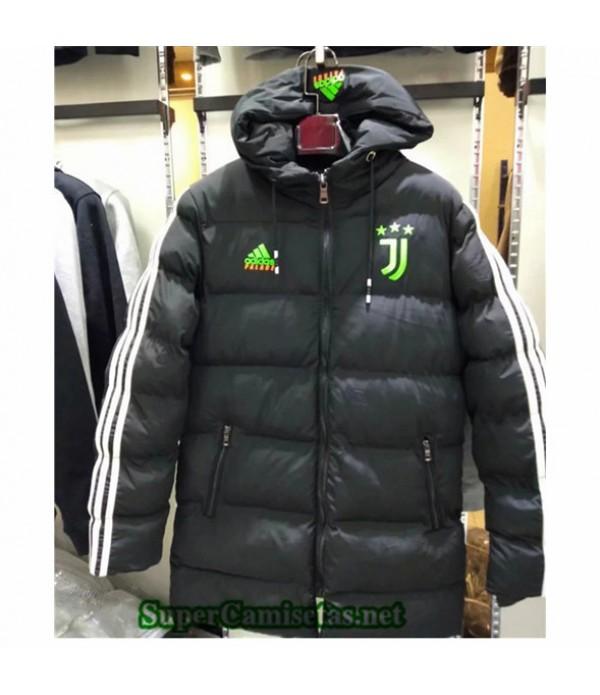 Tailandia Camiseta Juventus Chaqueta Doudoune Negro 2019/20