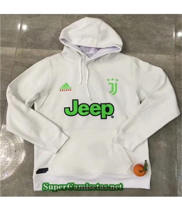 Tailandia Camiseta Juventus Chaqueta Sombrero Blanco 2019/20