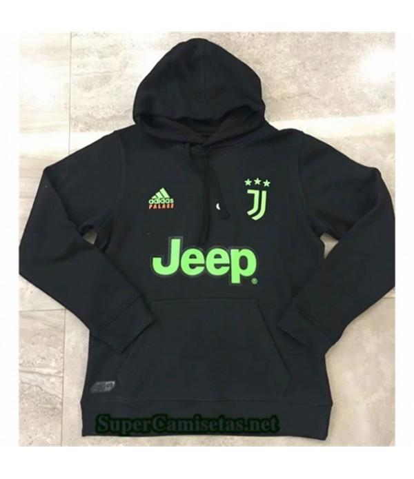 Tailandia Camiseta Juventus Chaqueta Sombrero Negro 2019/20