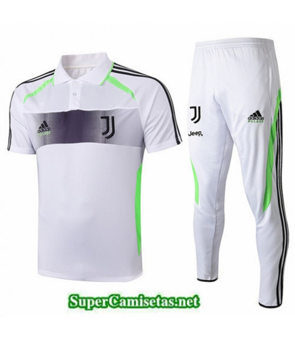 Tailandia Camiseta Kit De Entrenamiento Juventus Blanco 2019/20