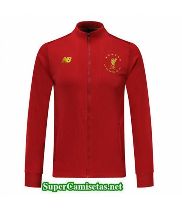 Tailandia Camiseta Liverpool Chaqueta Six Times Edición Commemorative Rojo 2019/20