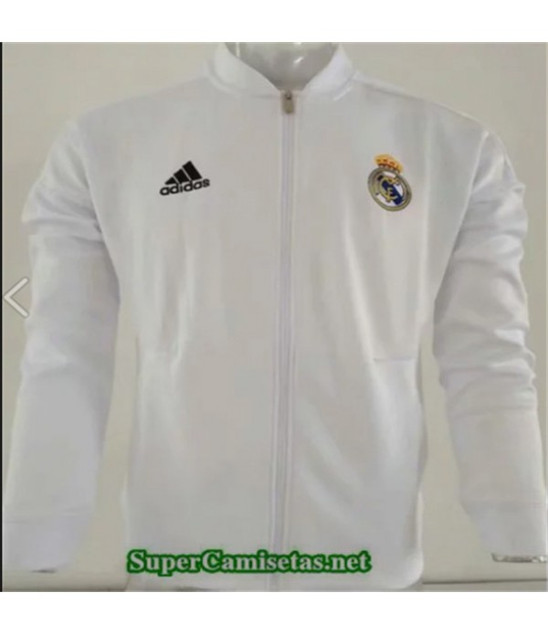 Tailandia Camiseta Real Madrid Chaqueta Blanco 2019/20