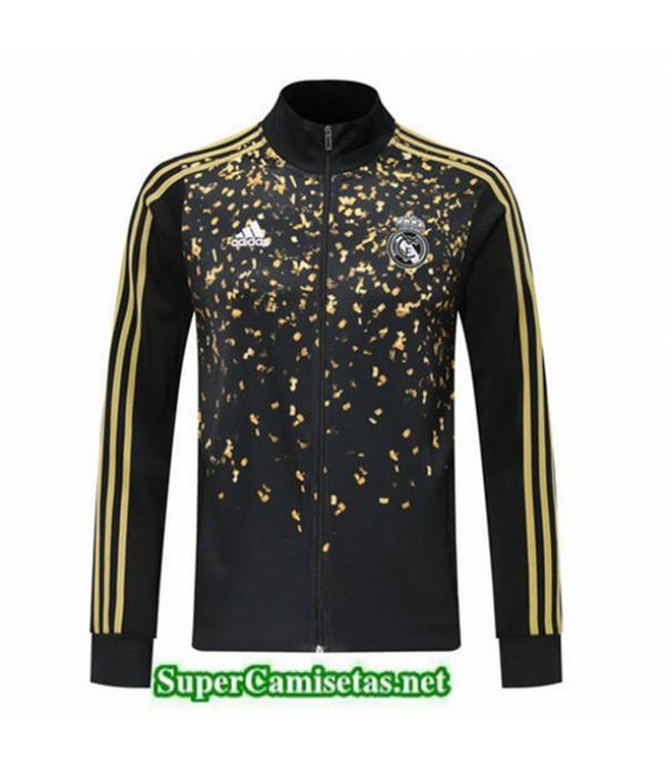 Tailandia Camiseta Real Madrid Chaqueta Edición Star Negro/amarillo 2019/20