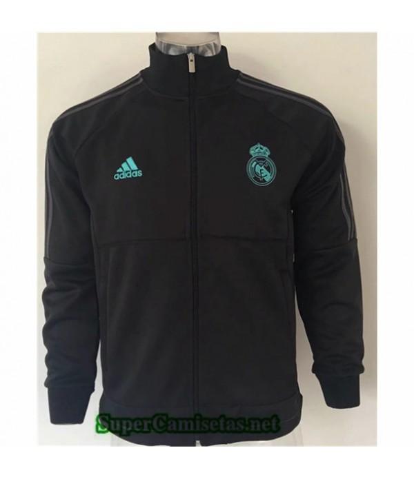 Tailandia Camiseta Real Madrid Chaqueta Negro/banda Verde 2019/20