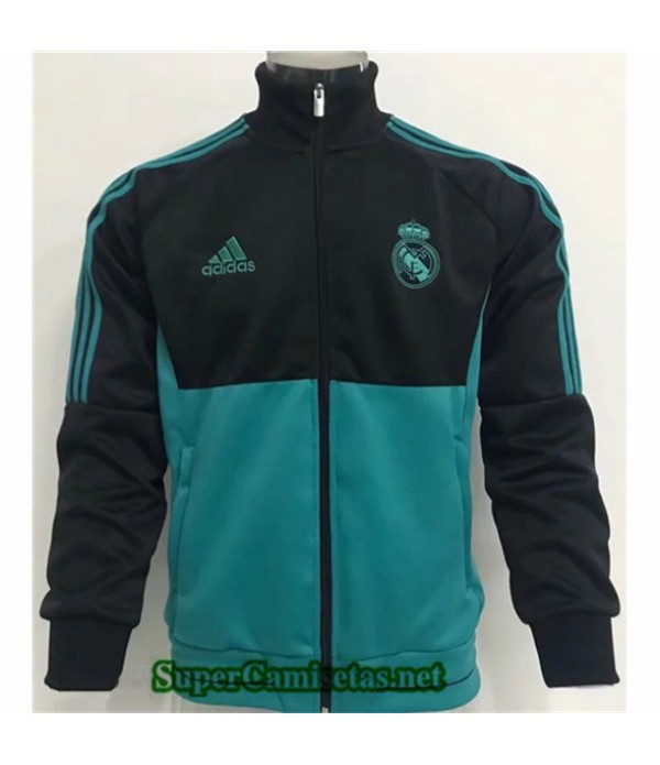 Tailandia Camiseta Real Madrid Chaqueta Negro/verde 2019/20