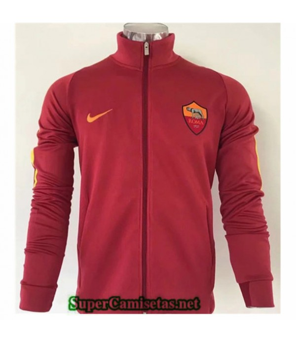 Tailandia Camiseta Roma Chaqueta Rojo 2019/20