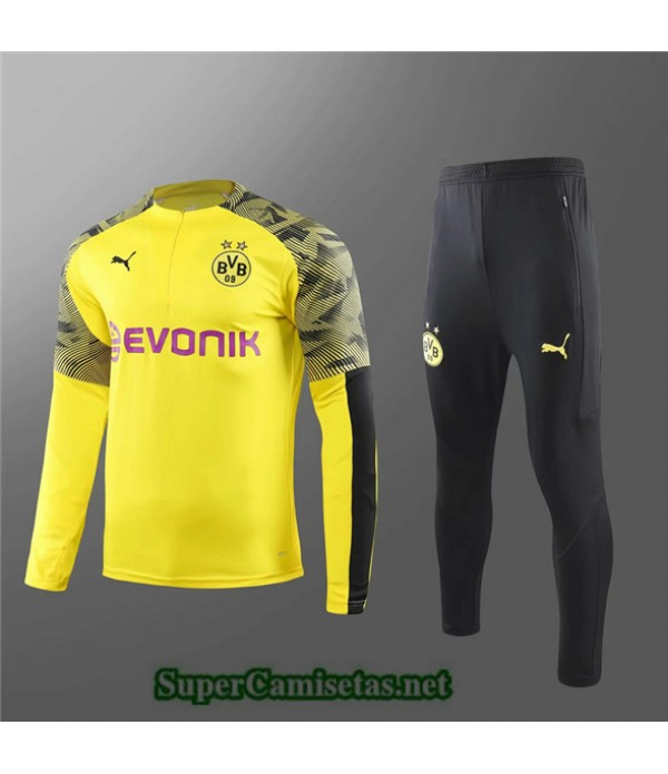 Tailandia Chandal Niños Borussia Dortmund Amarillo/negro 2019/20