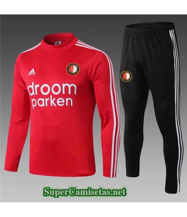 Tailandia Chandal Niños Feyenoord Droom Parken Rojo 2019/20