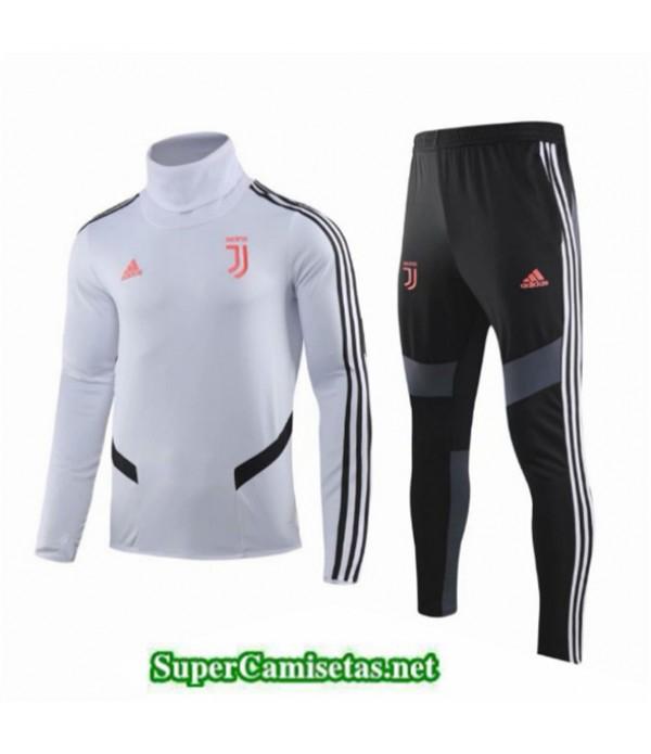 Tailandia Chandal Niños Juventus Blanco/negro Cuello Alto 2019/20