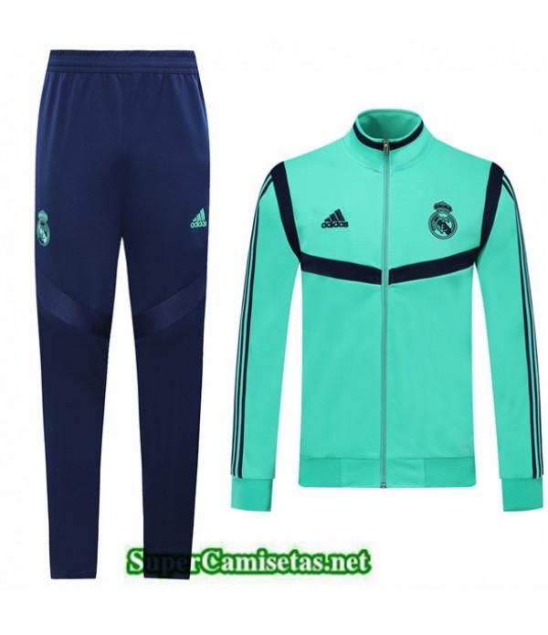Tailandia Chaqueta Chandal Niños Real Madrid Verde 2019/20