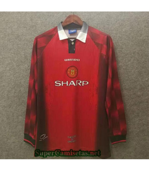 Tailandia Equipacion Camiseta Clasicas Manchester United 1996