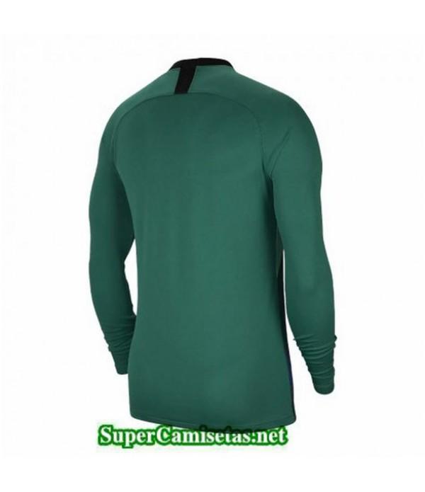Tailandia Primera Equipacion Camiseta Psg Portero Verde 2019/20