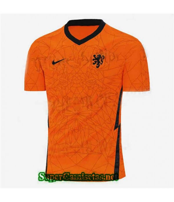 Tailandia Primera Equipacion Camiseta Países Bajos Euro 2020