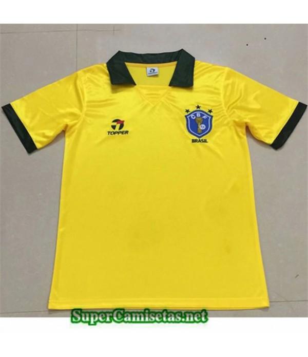 Tailandia Primera Equipacion Camiseta Clasicas Brasil 1998