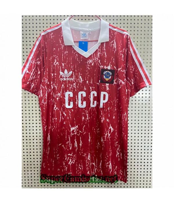 Tailandia Primera Equipacion Camiseta Retro Unión Soviética 1990