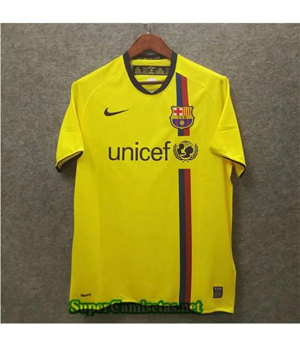 Tailandia Segunda Equipacion Camiseta Retro Barcelona 2008 09