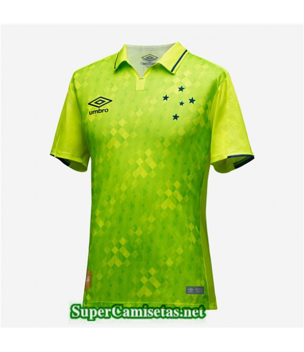 Tailandia Tercera Equipacion Camiseta Cruzeiro Verde 2019/20