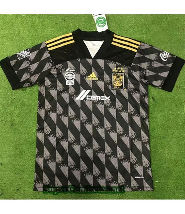 Tailandia Tercera Equipacion Camiseta Tigres Uanl Negro 2019/20