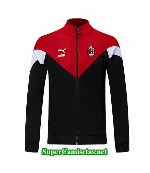 Tailandia Camiseta Ac Milan Chaqueta Negro/rojo/blanco 2019/20