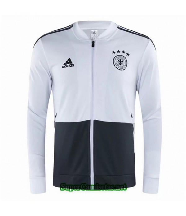 Tailandia Camiseta Alemania Chaqueta Blanco/negro 2020/21