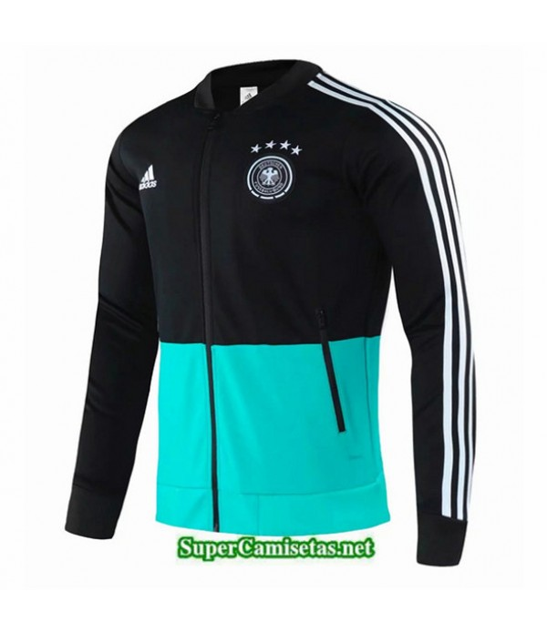 Tailandia Camiseta Alemania Chaqueta Negro/verde 2020/21