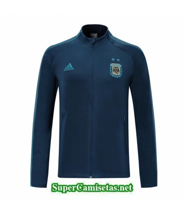 Tailandia Camiseta Argentina Chaqueta Azul Oscuro 2019/20