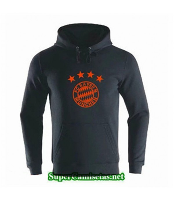 Tailandia Camiseta Bayern Munich Sudadera Con Capucha Negro 2019/20