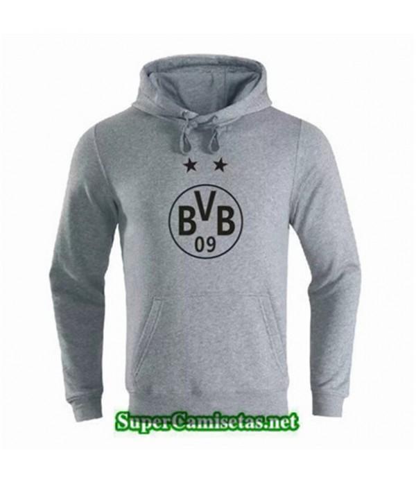 Tailandia Camiseta Borussia Dortmund Sudadera Con Capucha Gris 2019/20