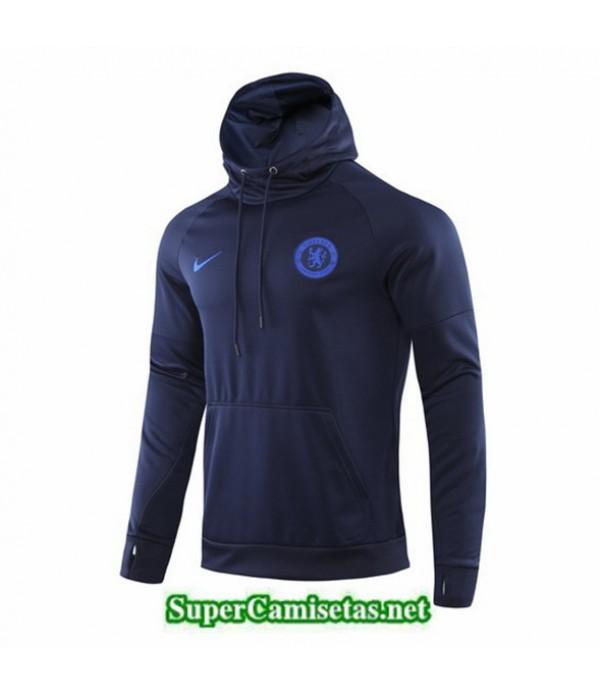 Tailandia Camiseta Chelsea Sudadera Con Capucha Azul Oscuro 2019/20