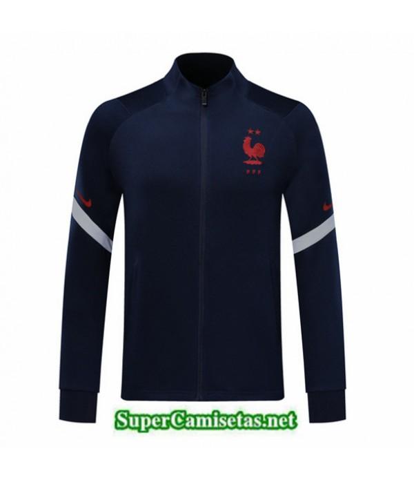 Tailandia Camiseta Francia Chaqueta Azul Oscuro 2020/21