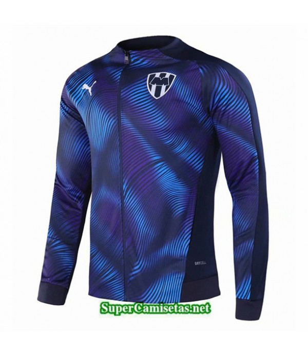 Tailandia Camiseta Monterey Chaqueta Azul Oscuro 2020/21