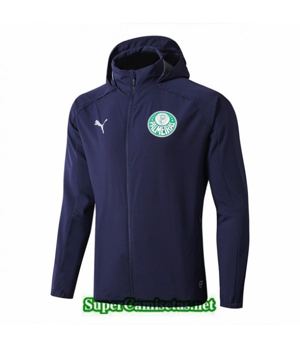 Tailandia Camiseta Palmeiras Rompevientos Azul Oscuro 2019/20