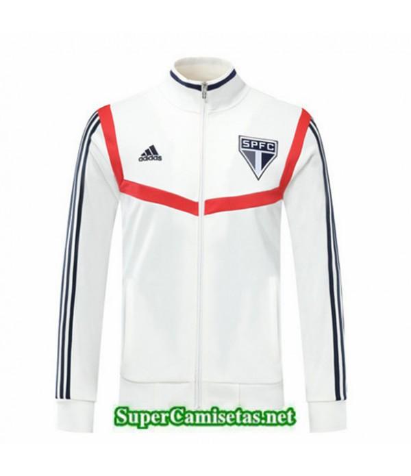 Tailandia Camiseta Sao Paulo Chaqueta Blanco/rojo 2019/20