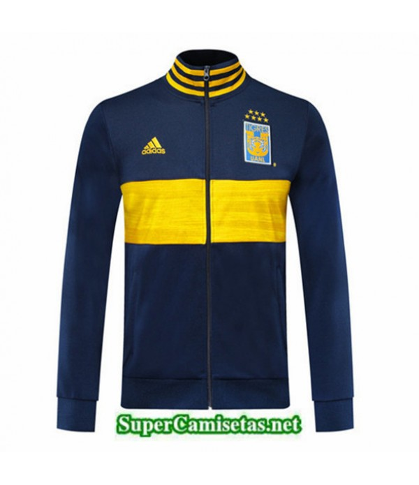 Tailandia Camiseta Tigres Uanl Chaqueta Azul Oscuro/amarillo 2019/20