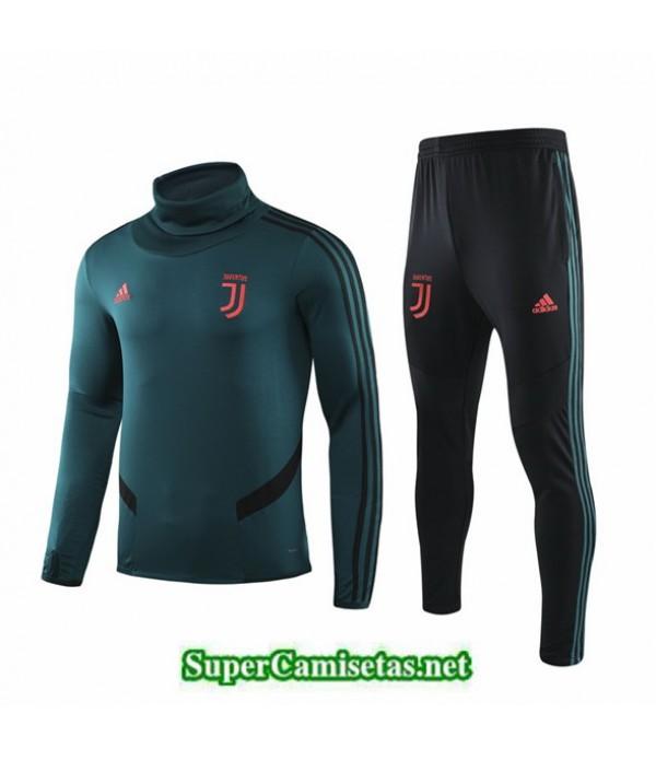 Tailandia Chandal Juventus 03s31 Verde Militar Cuello Alto 2019/20