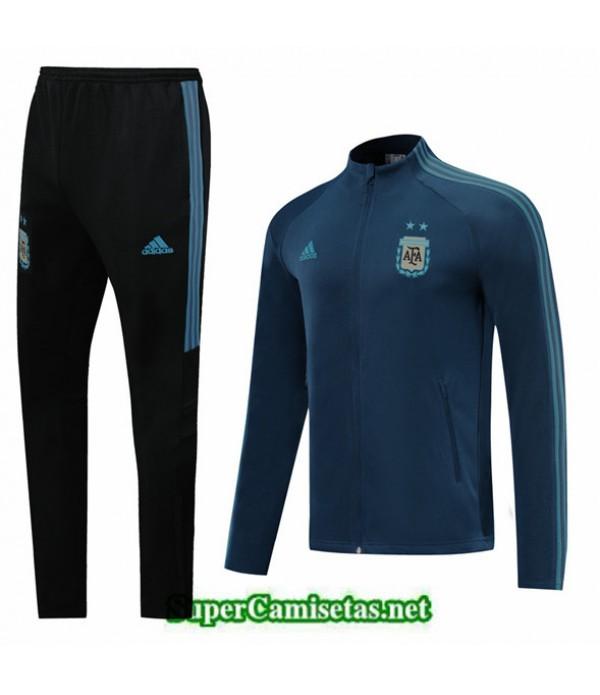 Tailandia Chaqueta Chandal Argentina 03s10 Azul Oscuro 2019/20