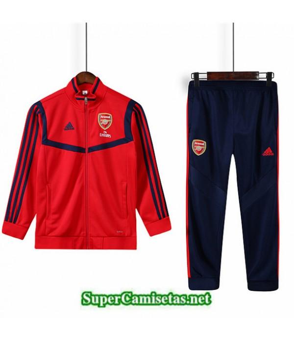 Tailandia Chaqueta Chandal Arsenal 03s53 Niños Rojo 2019/20
