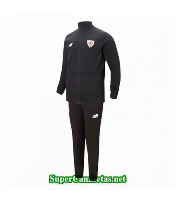Tailandia Chaqueta Chandal Athletic Bilbao 03s15 Negro 2019/20