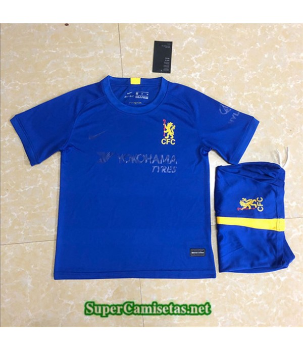 Tailandia Equipacion Camiseta Chelsea Niños Cuart...