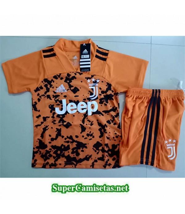 Tailandia Equipacion Camiseta Juventus Niños Naranja 2019/20